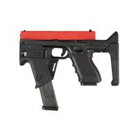 G17 كاربين تحويل عدة ل GLOC / G17 سلسلة التكتيكية هدفين الادسنس روني لعب مسدس النايلون جعل 1000 شمعة مضيا edc والعتاد