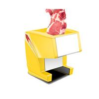 Fleischschneidemaschine Cutter Fleischschneidemaschine Haushaltselektro Lebensmittel Slicer Fleischwolf Slicer Wurstfüllhorn Maschine