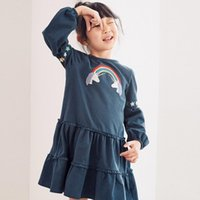 2- 7YearsNew dresses mixed size fall winter children clothing...
