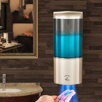 Sabonete Líquido Hotel cozinha sensor de parede dispensador automático de sabão - montado de perfuração higiênico garrafa não desinfetante para as mãos