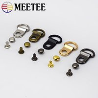 Meetee wholesale faster Metal Copper Material D Ring Buckle ...