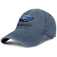 스와 바루 로고 2001 기호 상징 남녀 데님 야구 모자 판매 자동차 로고 핑크 화이트 액세서리 WRX uniquel 모자를 개인화 장착