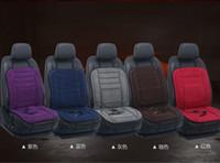 12V calienta el invierno coche cojín del asiento de coche calefaction calentó el amortiguador de asiento del coche del cojín amortiguador de calefacción seatWinter calentado para inclinarse onFree envío
