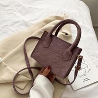 HBP Designer Damen Tasche Sommer Neue Mode Textur Kleine Square Taschen Einfache Atmosphäre Einzelne Schulter Messenger Bag