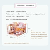 Cutebee Doll Furniture Miniature House Room Box Theatre Toys...