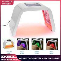 حار بيع 4 ضوء LED PDT العلاج بالضوء PDT تجديد الجلد لعلاج حب الشباب علاج LED العلاج صالون أدوات تجميل