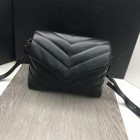 Lou Mini 20cm Cuero genuino Bolsos de lujo Bolsas para mujer Diseñador Bolsa de hombro de alta calidad Mujeres Marcas famosas Mujer