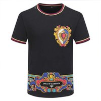 2020 New Designer Cotton Tee New Sale LX Printed T Shirt Mens Hip Hop Cotton Tee Shirts 8 Color High Quality WholesaleA40