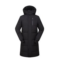 Mens Long Parkas Brand Winter Jackets 3 Colors Zipper Design...