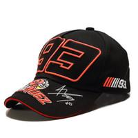 LA 2019 Nº de comércio exterior formidados bordados 93 chapéu F1 boné de corrida boné de beisebol chapéu de linho moto. GP ao ar livre esportes mo tuo mao t200409