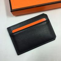 أسود جلد طبيعي حالة بطاقة الرجال رقيقة بطاقة محفظة الشركة id بطاقات الائتمان حامل النساء بطاقات حزمة النقدية جيب حامل البطاقة عملة محفظة