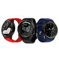 """F1 intelligente Orologio Bluetooth 4.0 1.3"""" GPS di sport con la macchina fotografica di sostegno del pedometro Smartwatch SIM orologio da polso per IOS Android Phone"""
