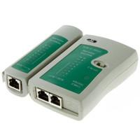 المهنية RJ45 كابل LAN تستر شبكة كابل تستر RJ45 RJ11 RJ12 CAT5 UTP LAN كابل اختبار الشبكات أداة إصلاح الشبكات