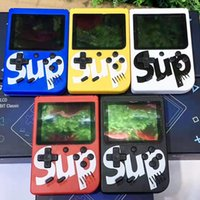 Sup game box 400 Spiele Retro Tragbare Mini-Handspielkonsole 3,0 Zoll Kinder Game Player Mit 1000 mAh Batterie TV Out