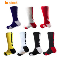fast ship Professional Elite Basketball Socks Long Knee Athl...