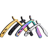 Supports de rasoir pour hommes Supports de lames en acier inoxydable Rasoir Rasoir pour hommes Rasoir pour rasoirs Barbiers Rasage Barbe Outil GGA2484