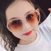 2020 новые детские polygo очки Мода мальчиков девушки конфеты цвет личности очки Дети adumbral очки Пляжные аксессуары C6432
