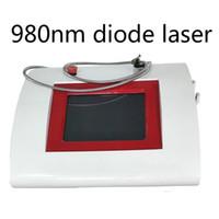 2020 Nova Tecnologia Confiável 980nm Diode Laser Big ponto de laser de diodo máquina varizes remoção Vascular frete grátis