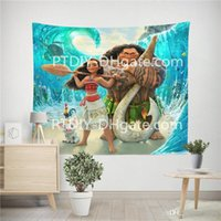 Wall tapestry Waterproof Anti Mildew Polyester Scene for Liv...