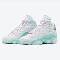 2020 New Arrival Jumpman 13 XII GS Playground Aurora Green 1...