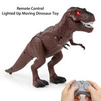 الأشعة تحت الحمراء التحكم عن بعد الديناصورات خدعة لعبة طفل RC الحيوانات الأليفة الالكترونية الحيوانات تريسيراتوبس الطفل مخيف التمساح الروبوت ميني الضفدع العقرب MX200414