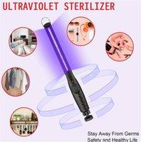 2021 Lampada UV LED preferita Palmare UVA Luce Disinfettante Maschera di disinfettante Home Viaggio Mini USB Carica