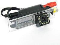 Cámara de vista trasera de copia de seguridad de la cámara estacionarse en reversa con luz LED para Opel Vectra / Astra / Zafira / Insignia / Meriva 2009-presente