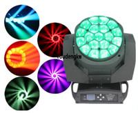 6 parça Büyük 19 * 15 W Arı Gözler LED Hareketli Kafa Yakınlaştırma Işık kil paky B GÖZ hareketli kafa yakınlaştırma ışın ışık