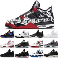 Men 4 4S Basketball Shoes Man Women Cactus Jack Tattoo Nrg R...