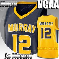 Universidade NCAA 12 Ja Morant Jersey Murray State 12 Deandre Hunter 1 Sião Williamson 5 RJ Barrett 21 Rui Hachimura 23 Jarrett Culver Jerseys