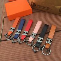 H إلكتروني المعادن سلسلة المفاتيح شخصية أزياء الرجال والنساء زوجين المفاتيح سيارة قلادة حقيبة أجزاء مع مربع