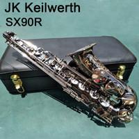 95٪ نسخة ألمانيا JK SX90R Keilwerth ساكسفون التو النيكل تصفيح ألتو ساكس آلات النفخ النحاسية الموسيقية مع حالة لسان الحال الشحن المجاني