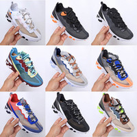 Nike Air React Element 87 55 Undercover Running Shoes Designer 87 s thea mesh Respirável homme Sneakers Sapatilhas Formadores de esportes