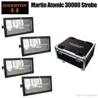 4IN1 비행 케이스 팩 마틴 3000 원자 단계 DMX 주도 스트로브 빛 워시 플래시 효과 2IN1 화이트 스트로브 RGB 3IN1 SMD 5050 벽 세척