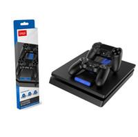 Nuovo Controller IPEGA PS4 Carica a doppio caricatore in carica veloce per Sony PlayStation 4 PS4 Slim PS4 Pro