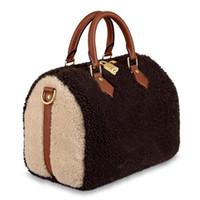 marque de haute qualité 2019 nouvelles femmes sac fourre-tout à l'épaule oreiller sac à main de luxe sac à main 30 RAPIDES sac à main M55422 25 SPEEDY Teddy Sacs de créateurs