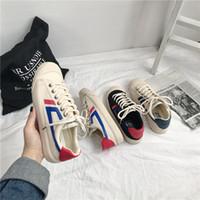 sokak çekim öğrenciler vahşi kadın ayakkabıları Süper yangın kanvas ayakkabılar kadınların bahar 2020 patlama modelleri Aysal çukur Kore versiyonu