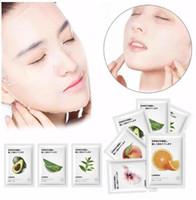 Lanbena plante fruit masque facial Japon formule avancée hydratante d'eau verrouillage d'eau extrait de masque facial fraîche