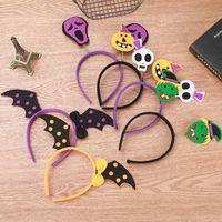 Accessoires de fête bandeaux Halloween Party citrouille chauve-souris Robe Up Accessoires Un bon Halloween cadeau pour la famille et enfants LXL378L