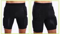 Motocross Protecteur Overland Protection Mototourisme Hanches capitonnées Armure Pantalons jambe Shorts pour Ski Racing Équipement de protection Pantalon noir pour hommes