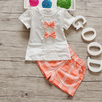 good quality summer baby girl clothing set fashion children ...