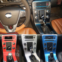 Pour Volvo V60 S60 2011-2018 auto-adhésif Autocollants voiture 3D 5D fibre de carbone vinyle stickers voiture et décalcomanies Car Styling Accessoires