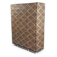 Möbler 4-lager Europeisk stilmönster Non-woven Fabric Garderob Senior Designer Sovrum Organisation Vintage Utskriftskåp