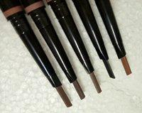 Новый горячий СОСТАВА Брови Расширители Тощий Brow Pencil золото Дважды закончилась бровей кисти макияж 4Color DHL доставка + подарок