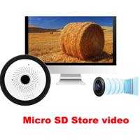 WIFI Caméra IP Fisheye 960P Panoramique Bébé Moniteur Sans Fil Mini 360 Degrés CCTV Caméra 3D VR Vidéo Cam Surveillance DHL