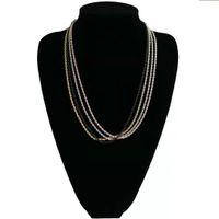 3mm 60 cm cadeia colares para homens luxo cubano de aço inoxidável torcido cadeias de presente da jóia 4 cores ouro prata rosa ouro preto frete grátis