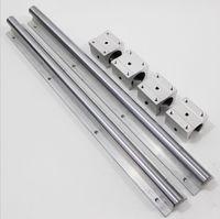 SBR20-1500mm линейный направляющий выступ / рельс + 4pcs sbr20uu линейные подшипниковые колодки для частей маршрутизатора cnc