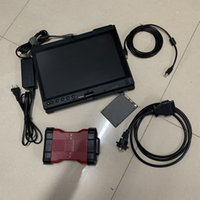 Para F-ord VCM2 Ferramenta de Diagnóstico para scanner VCM2 IDS V101 ferramenta obd2 vcm 2 com 320 GB HDD em Laptop usado X201T I7 4G