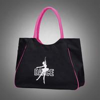 Бесплатная доставка R3023 оптовые водонепроницаемые шелковые танцевальные сумки с танцевальным логотипом, оптовые балетные танцевальные туфли сумки для соревнований