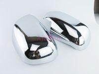 Pour Toyota Hilux vigo 2005 2006 2007 2008 2009 2010 1011 2012 2013 2014 Miroir Porte Overlay Vue arrière Cache Chromé Car Styling Accessoires